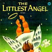1960 'The Littlest Angel', Charles Tazewell,1st Ed, Illustrated Christmas Story, Wonder Books