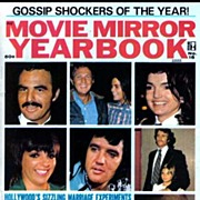 1973 MOVIE MIRROR Magazine – Gossip Shockers / Hollywood Photographs / Special Yearbook Issue / Vintage