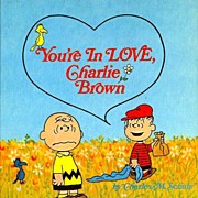 1968 'You're In LOVE Charlie Brown' SCARCE 1st Ed, Charles M. Schultz