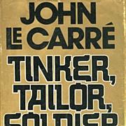 SCARCE 1974 1st Ed `Tinker, Tailor, Soldier, Spy' w/ DJ – John Le Carre/  Mystery / Vintage / Spy Thriller