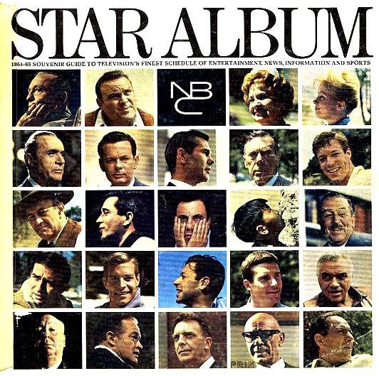 SCARCE 1964 NBC 'Star Album' Entertainment /Television - Photographs / Disney / President Kennedy / Olympics