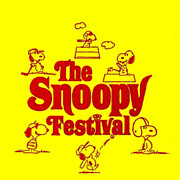 SCARCE 1974 `The Snoopy Festival' w/ DJ 'Charlie Brown' - Charles M. Schultz / Peanuts Gang / Comics