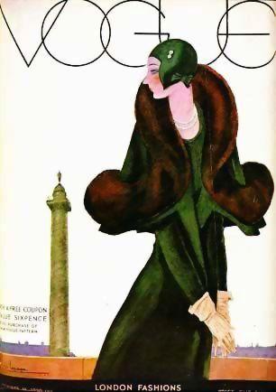1st Ed 'Art of Vogue Covers' 1909-1940 w/ DJ Fashion RARE - Great Britain 1st Printing, Art Deco, Vogue Magazine