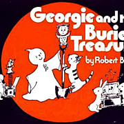 SCARCE 1979 1st Ed 'Georgie and the Buried Treasure' Ghost Story - Robert Bright / Vintage / Picture Book