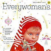 December 1957 'Everywoman's Magazine' Christmas Holiday Issue – Entertaining / Advertising / Recipes / Crafts