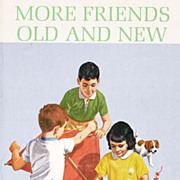 1965 'More Friends Old And New' Reader, Scott Foresman, African American, Minority Characters, Textbook, Educational, Dick and Jane, History, Teachers, Short Stories