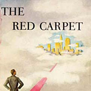 RARE 1952 1st Ed 'The Red Carpet' w/ DJ 'Cover Art' - Dan Wickenden American Novelist / Humor / Vintage
