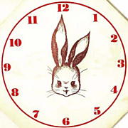 RARE 1943 1st Ed `Telltime the Rabbit' Animal Story, Clock - Movable Hands, Telling Time, Owl, Turtle