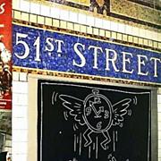 Keith Haring 'Art In Transit' 1984 1st Ed, Graffiti - Subway Drawings, Photography, Tseng Kwong Chi