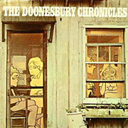 1975 'Doonesbury Chronicles' DJ, 1st Ed, 1st Printing - G. B. Trudeau Comic Strip, Cartoonist, Vintage