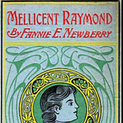 1891`Mellicent Raymond' Novel, SCARCE Embossed Cover - Girl Comrade Series, Antiquarian, Out-Of-Print