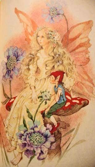 1982 'Fairy Poems for the Very Young'  Stated First Edition, Illustrated, RARE - Beverlie Manson,  Rose Fyleman, Elves
