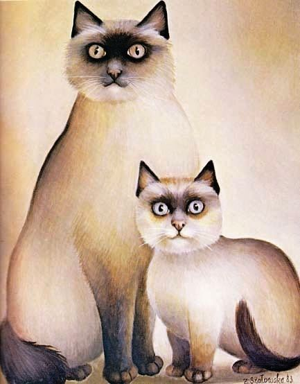 'All Our Cats' 1985 1st Ed, DJ, Feline Art, Paintings, European Art, American Art, Out-of-Print