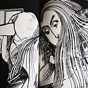 1973 Alice in Wonderland, 1st Ed, Ralph Steadman Illustrations, Lewis Carroll