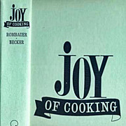 1964 'Joy Of Cooking' Irma Rombauer, Entertaining, Illustrated, Collector's, Vintage