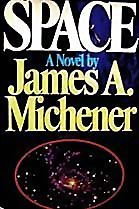 1982 'Space' 1st Ed, DJ 'James Michener' NASA, Historical Fiction, Pulitzer Prize Novelist, Vintage