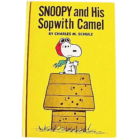 1969 'Snoopy and His Sopwith Camel' Charles M. Schulz, RARE Stated First Edition, Red Baron, Peanuts, Charlie Brown