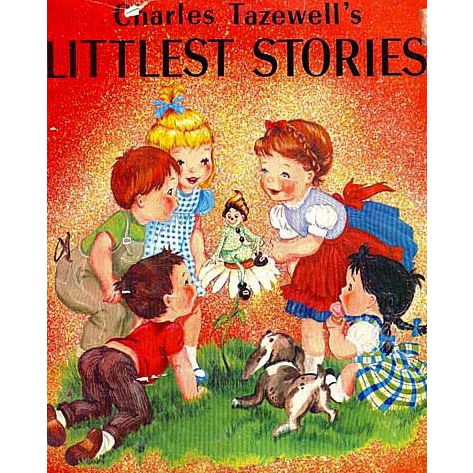 Charles Tazewell's 'Littlest Stories' 1962 1st Ed, DJ, RARE First Printing, Christmas, Illustrated, Holiday