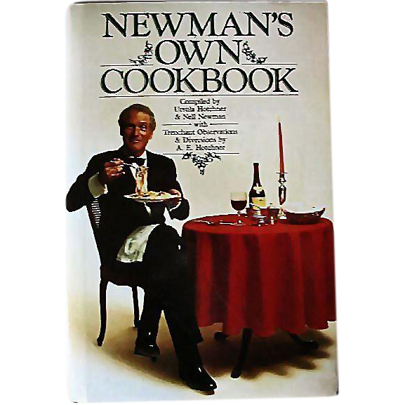 Rare Paul Newman SIGNED 'Newman's Own Cookbook' 1985 First Edition, DJ, Photographs, Entertainment, Sundance, Celebrity Recipes