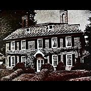 1963 'Maryland's Way' Hammond-Harwood House Cook Book, First Edition, DJ, Art, Photography, Historical Landmarks, Recipes