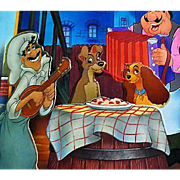 Walt Disney's 'Lady and the Tramp' Pop-Up Book, SCARCE 1994 First Edition, First Printing, Movie, Spaniel, Pages MINT
