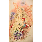 1982 'Fairy Poems for the Very Young' RARE First Edition, First Printing, Beverlie Manson Art, Watercolor, Rose Fyleman, Fairy Songs, Marjorie Barrows, Eleanor Farjeon, Fairy Songs, Elves, Pages MINT