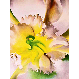 1977 'Georgia O'Keeffe' Modern Art, Out-of-Print, RARE First Edition, Autobiography, Paintings, Watercolors, American Southwest, Santa Fe, New Mexico, Quality Large Color Plates
