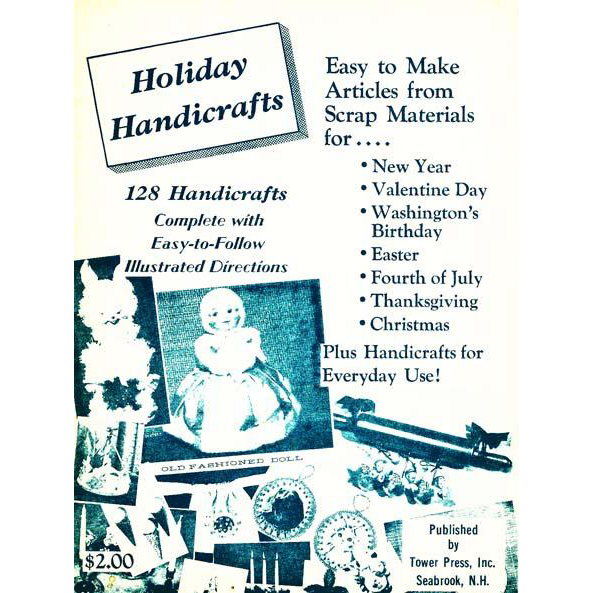 1966 39 holiday handicrafts 39 crafts rare first edition for Easy handicrafts to sell