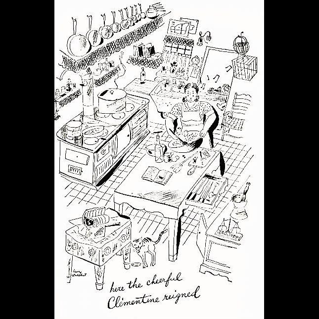 1963 'Clementine In The Kitchen' Cookbook, Samuel