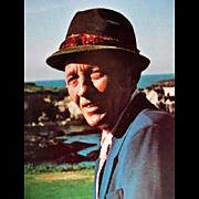 1975 'The Crosby: Greatest Show in Golf', Bing Crosby, RARE First Edition, DJ, The Clambake, Celebrity Photographs, Bob Hope, Glen Campbell, Clint Eastwood, Dean Martin, Jack Lemmon, Ben Hogan, Jack Nicklaus, Bert Yancey, Rancho Santa Fe Golf Club