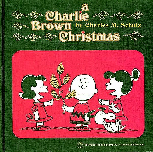 Scarce 1965 'A Charlie Brown Christmas' Book, Stated 1st Ed, DJ ...
