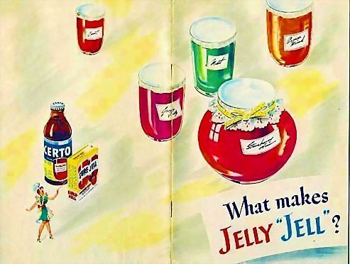"1951 'General Foods' What Makes Jelly ""Jell""? Cookbook, Illustrated, Canning, Advertising, RARE"
