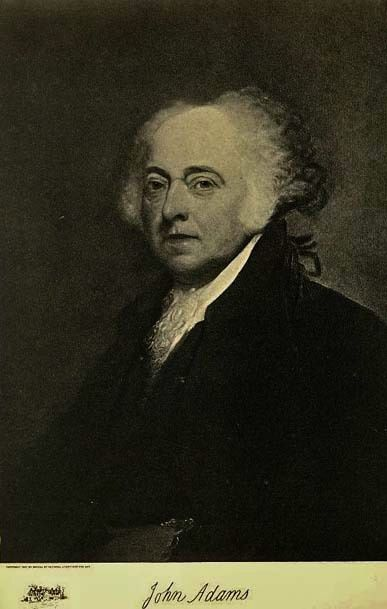 1907 Antique 'John Adams' Presidential Portrait, Fine Art, Antique Art, Gravure Print, History