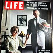 Sept. 22, 1958 Life Magazine HOLLYWOOD - George & Gracie Burns - Elizabeth Taylor