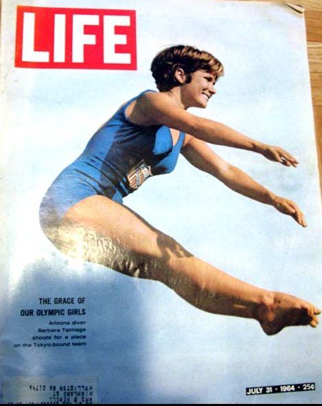 RARE July 31, 1964 LIFE Magazine OLYMPICS - Barbara Talmage / Sports / Peter Sellers / Politics