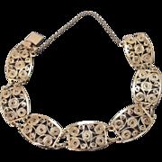 European Filigree Bracelet 900 Silver