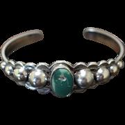 Vintage Maisel's Silver Bracelet Decorated