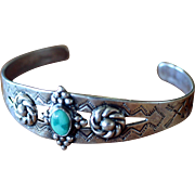 Vintage Fred Harvey Era Silver Bracelet