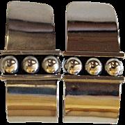 Vintage Brenda Schoenfeld Earrings Taxco Silver