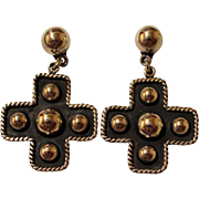 Vintage Taxco Silver Earrings Dangles