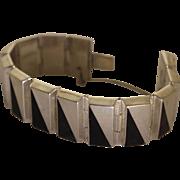 Taxco Silver Bracelet Enrique Ledesma Modernist