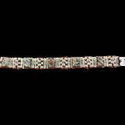 Vintage FarFan Silver Bracelet 1960s 1970s