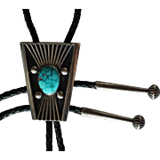 Vintage Navajo Bolo Tie Johnny Mike Begay