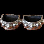 Vintage Taxco Silver Earrings Modernist