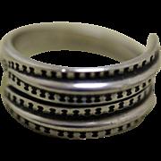 David Andersen Silver Ring Viking Saga Series Unisex