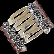 Vintage Taxco Silver Bracelet Four Level Juvenal
