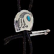 Vintage Hopi Silver Bolo Tie Melinda Lucas