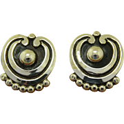 Vintage Pat Areias Silver Earrings Taxco