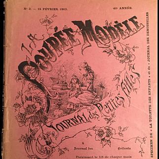 """Original """"La Poupee Modele"""" 1903 with Supplements"""