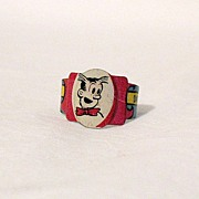 Vintage Collectible Premium Post Toasties Cereal Company Dagwood Litho Tin Ring 1949